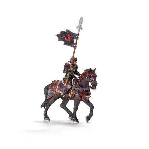 Schleich - Knights - Dragon Knight on Horse with Lance | KidzInc Australia | Online Educational Toy Store
