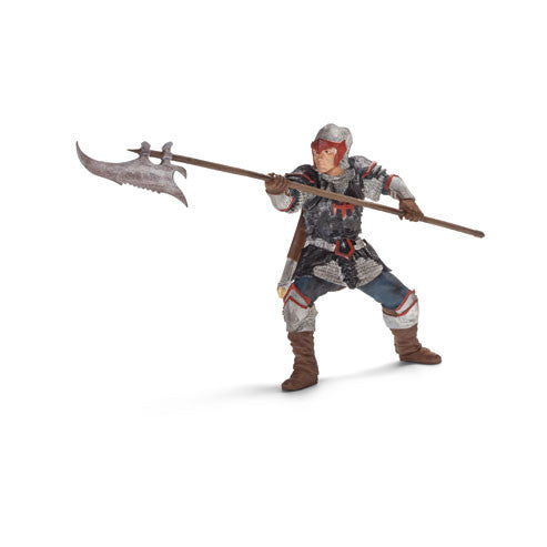 Schleich - Knights - Dragon Knight with Pole-arm | KidzInc Australia | Online Educational Toy Store