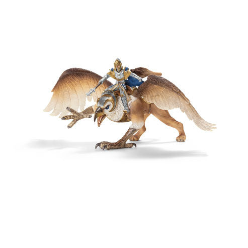 Schleich - Knights - Griffin Rider | KidzInc Australia | Online Educational Toy Store