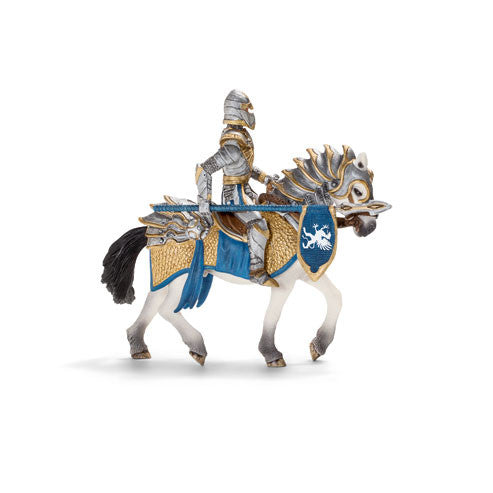 Schleich - Knights - Griffin Knight on Horse with Lance | KidzInc Australia | Online Educational Toy Store