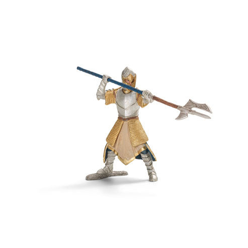 Schleich - Knights - Griffin Knight with Pole-arm | KidzInc Australia | Online Educational Toy Store