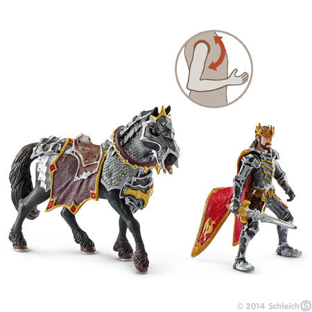 Griffin Knight with Pole-Arm from Schleich | WWSM