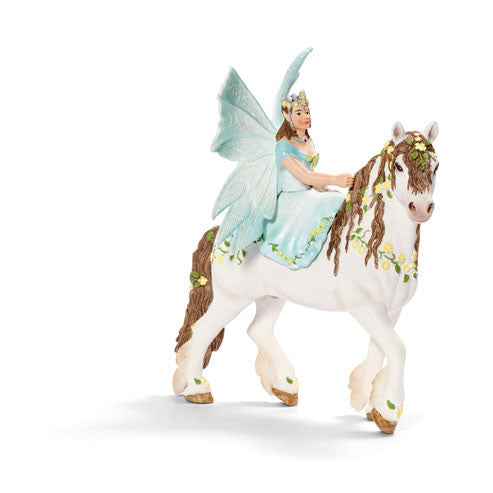 Schleich - Eyela On Horseback | KidzInc Australia | Online Educational Toy Store