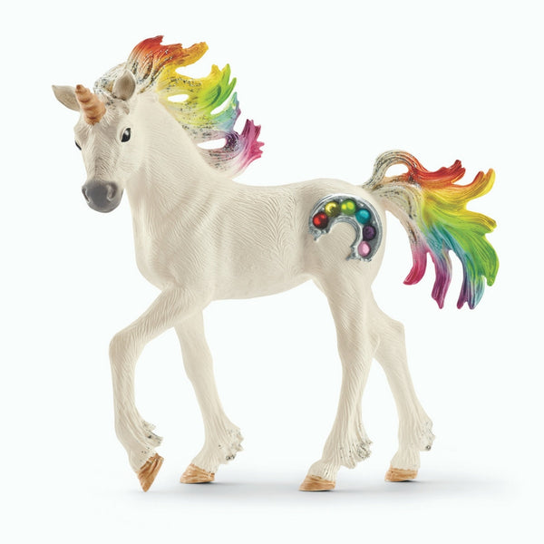 Schleich - Bayala - Rainbow Unicorn Stallion | KidzInc Australia | Online Educational Toy Store