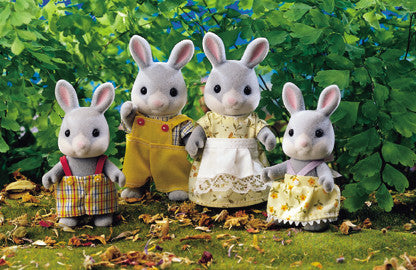 Sylvanian Families - Cottontail Rabbit Family | KidzInc Australia | Online Educational Toy Store