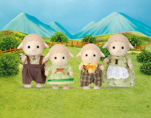 Sylvanian Families - Sheep Family | KidzInc Australia | Online Educational Toy Store