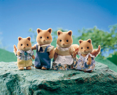 Sylvanian Families - Honey Fox Family | KidzInc Australia | Online Educational Toy Store