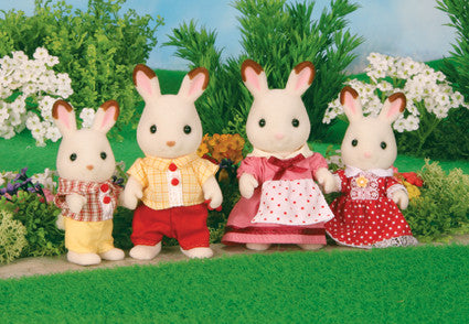 Sylvanian Families - Chocolate Rabbit Family | KidzInc Australia | Online Educational Toy Store