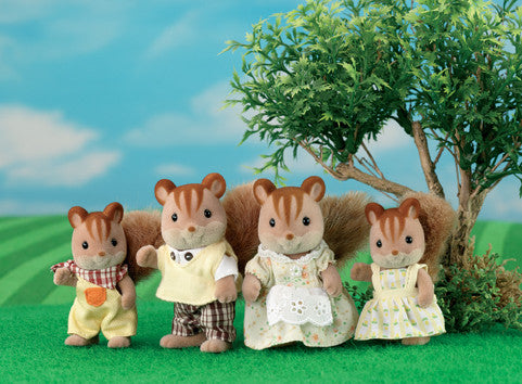 Sylvanian Families - Walnut Squirrel Family | KidzInc Australia | Online Educational Toy Store