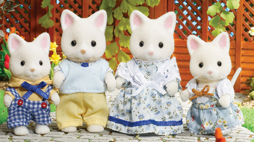 Sylvanian Families - Silk Cat Family | KidzInc Australia | Online Educational Toy Store