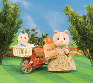 Sylvanian Families - Cycling with Mother | KidzInc Australia | Online Educational Toy Store