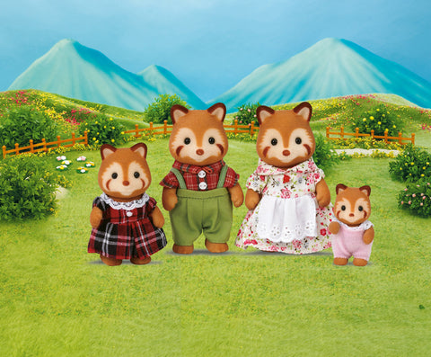 Sylvanian Families - Red Panda Family | KidzInc Australia | Online Educational Toy Store