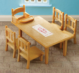 Sylvanian Families - Family Table and Chairs | KidzInc Australia | Online Educational Toy Store