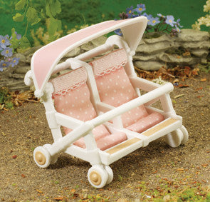 Sylvanian Families - Double Pushchair | KidzInc Australia | Online Educational Toy Store