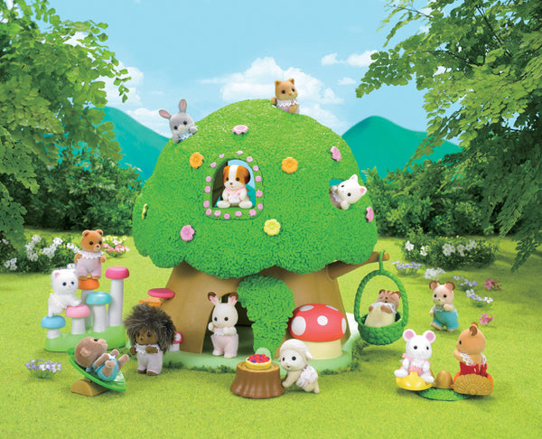 Sylvanian Families - Nursery Tree House | KidzInc Australia | Online Educational Toy Store