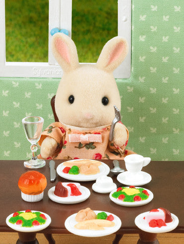 Sylvanian Families - Dinner for Two Set | KidzInc Australia | Online Educational Toy Store