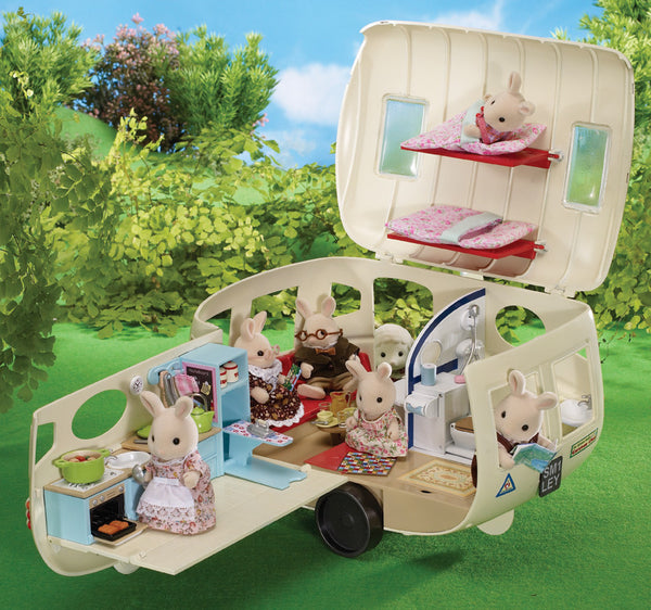 Sylvanian Families - The Caravan | KidzInc Australia | Online Educational Toy Store
