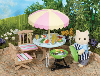 Sylvanian Families - Garden Barbecue Set | KidzInc Australia | Online Educational Toy Store