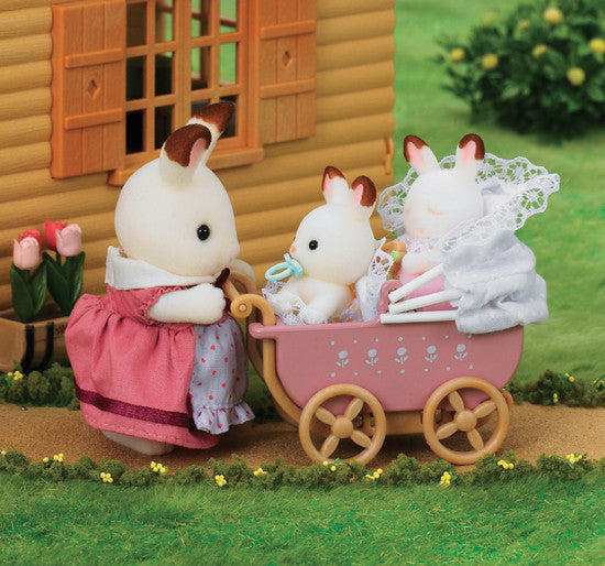 Sylvanian Families - Chocolate Rabbit Twin Set | KidzInc Australia | Online Educational Toy Store
