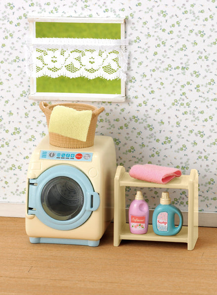 Sylvanian Families - Washing Machine Set | KidzInc Australia | Online Educational Toy Store