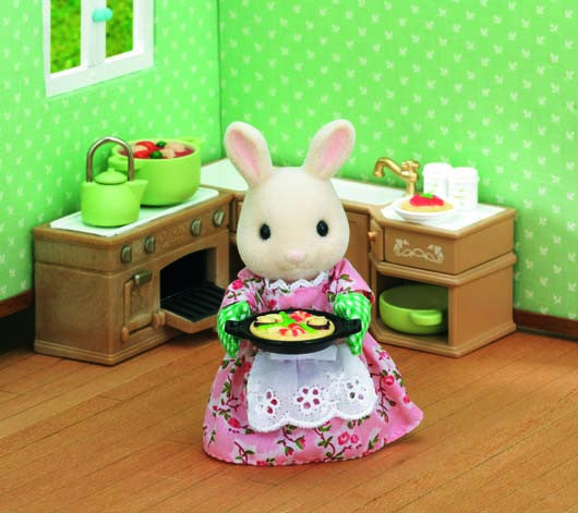 Sylvanian Families - Kitchen Cooking Set | KidzInc Australia | Online Educational Toy Store