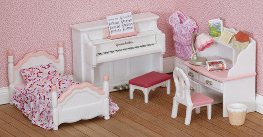 Sylvanian Families - Girls Bedroom Set | KidzInc Australia | Online Educational Toy Store