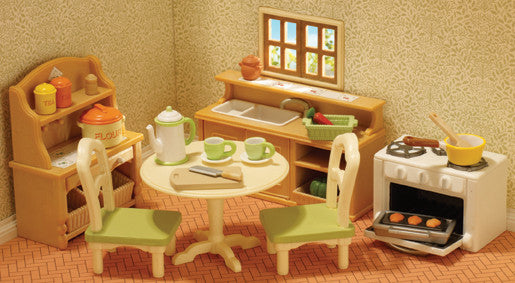 Sylvanian Families - Country Kitchen Set | KidzInc Australia | Online Educational Toy Store