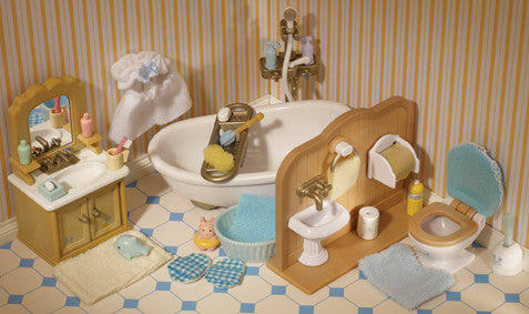 Sylvanian Families - Country Bathroom Set | KidzInc Australia | Online Educational Toy Store