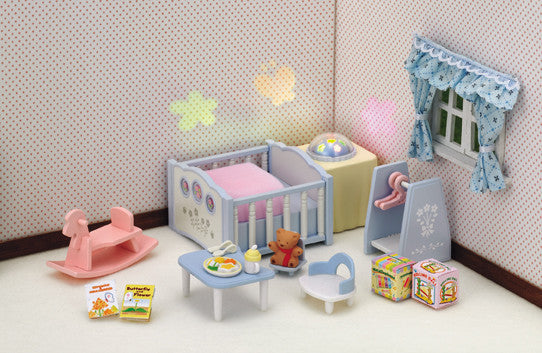 Sylvanian Families - Nightlight Nursery Set | KidzInc Australia | Online Educational Toy Store