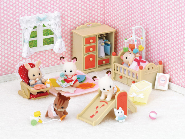 Sylvanian Families - Baby Room Set | KidzInc Australia | Online Educational Toy Store