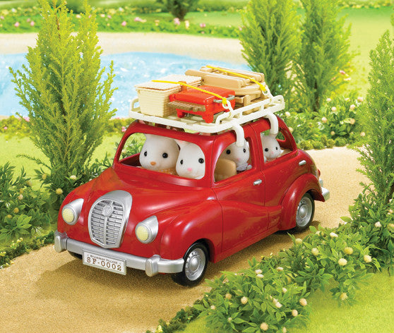 Sylvanian Families - Roof Rack and Picnic Set | KidzInc Australia | Online Educational Toy Store
