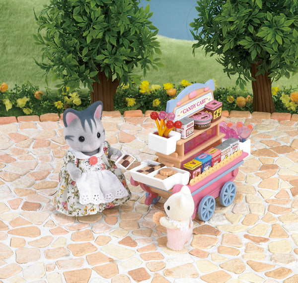 Sylvanian Families - Candy Cart | KidzInc Australia | Online Educational Toy Store