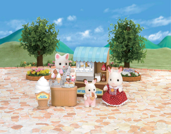 Sylvanian Families - Soft Serve Ice Cream Shop | KidzInc Australia | Online Educational Toy Store