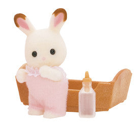 Sylvanian Families - Chocolate Rabbit Baby | KidzInc Australia | Online Educational Toy Store