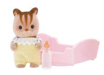 Sylvanian Families - Walnut Squirrel Baby | KidzInc Australia | Online Educational Toy Store