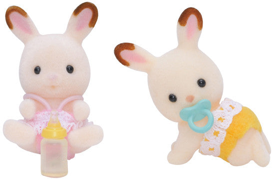 Sylvanian Families - Chocolate Rabbit Twin Babies | KidzInc Australia | Online Educational Toy Store