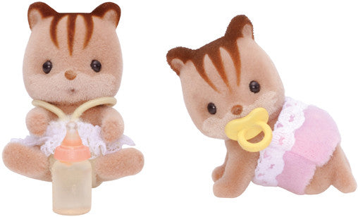 Sylvanian Families - Walnut Squirrel Twins | KidzInc Australia | Online Educational Toy Store