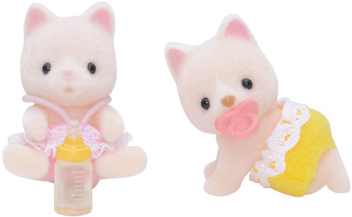 Sylvanian Families - Silk Cat Twin Babies | KidzInc Australia | Online Educational Toy Store