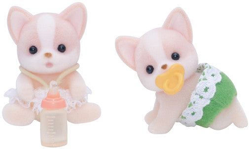 Sylvanian Families - Chihuahua Dog Twins | KidzInc Australia | Online Educational Toy Store