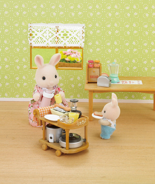 Sylvanian Families - Kitchen Cookware Set | KidzInc Australia | Online Educational Toy Store