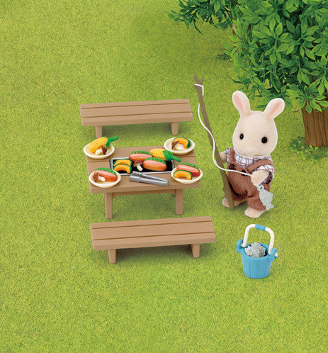 Sylvanian Families - Family BBQ Set | KidzInc Australia | Online Educational Toy Store