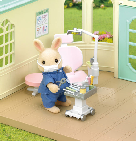 Sylvanian Families - Country Dentist Set | KidzInc Australia | Online Educational Toy Store