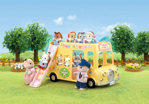 Sylvanian Families - Nursery Double Decker Bus | KidzInc Australia | Online Educational Toy Store