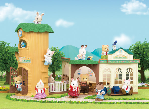 Sylvanian Families - Country Tree School | KidzInc Australia | Online Educational Toy Store