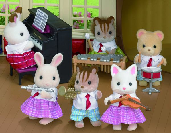 Sylvanian Families - School Music Set | KidzInc Australia | Online Educational Toy Store