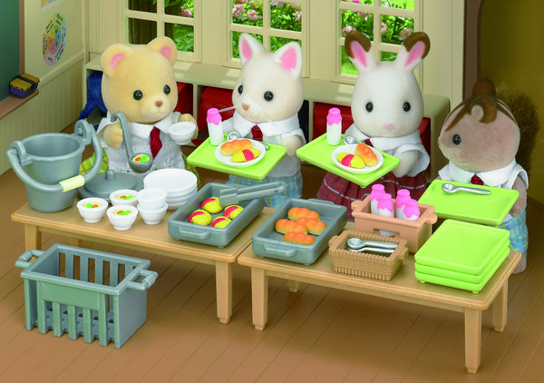 Sylvanian Families - School Lunch Set | KidzInc Australia | Online Educational Toy Store