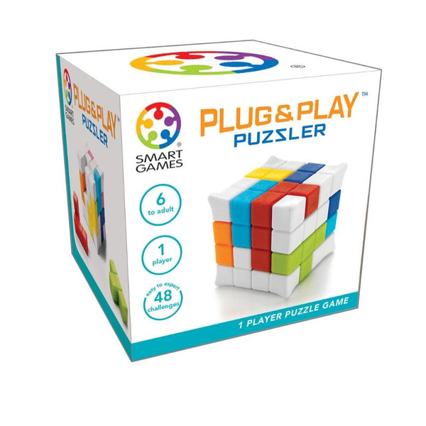 Smart Games Plug and Play Puzzler Game | KidzInc Australia Online Toys