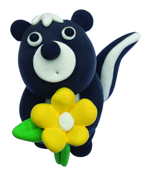 My Studio Girl - 3D Magic Dough Skunk | KidzInc Australia | Online Educational Toy Store
