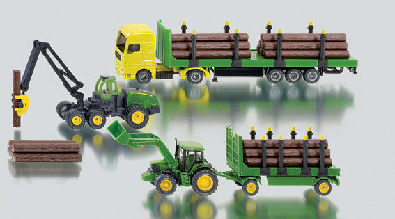 Siku - Forestry Gift Set - 1:87 Scale | KidzInc Australia | Online Educational Toy Store
