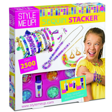 Style Me Up! - Sequin Stacker | KidzInc Australia | Online Educational Toy Store